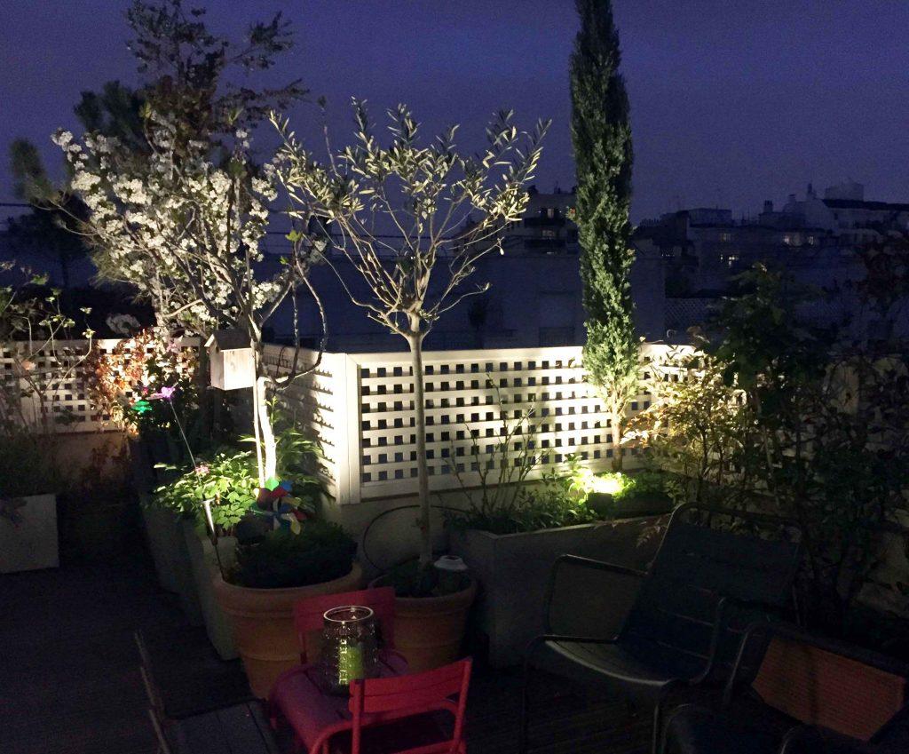 Eclairage De Terrasse Exterieur rooftop en lumiere, porte de versailles – Éclairer son